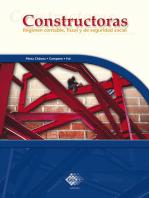 Constructoras 2016: Régimen contable, fiscal y de seguridad social