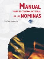 Manual para el control integral de las nóminas 2016