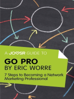 A Joosr Guide to... Go Pro by Eric Worre
