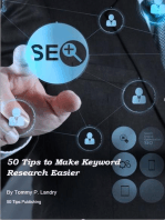 50 Tips to Make Keyword Research Easier