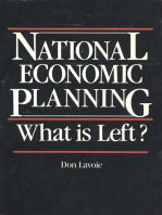 National Economic Planning