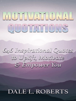 Motivational Quotations