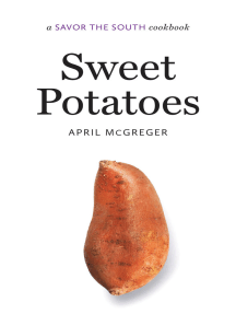 Sweet Potatoes: a Savor the South® cookbook