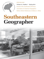 Southeastern Geographer: Economic Geography in the South, Spring 2011