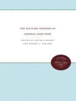 The Military Memoirs of General John Pope