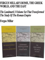 Fergus Millar's Rome, the Greek World, and the East, Omnibus E-book