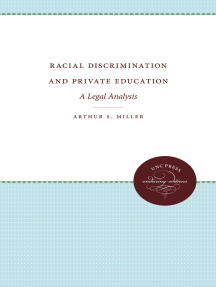 Racial Discrimination and Private Education: A Legal Analysis