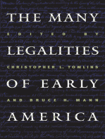 The Many Legalities of Early America