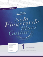 Your Personal Book of Solo Fingerstyle Blues Guitar 1 : Fundamental: Your Personal Book of Solo Fingerstyle Blues Guitar, #1