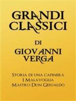 Grandi Classici di Giovanni Verga