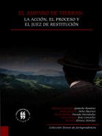 El amparo de tierras: la acción, el proceso y el juez de restitución