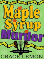 Maple Syrup Murder