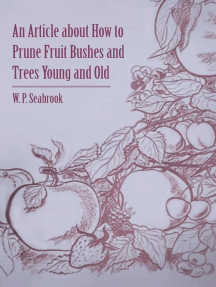 An Article about How to Prune Fruit Bushes and Trees Young and Old