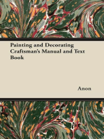 Painting and Decorating Craftsman's Manual and Text Book