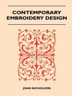 Contemporary Embroidery Design
