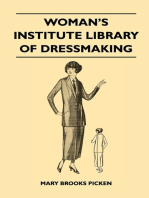 Woman's Institute Library of Dressmaking