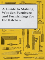 A Guide to Making Wooden Furniture and Furnishings for the Kitchen