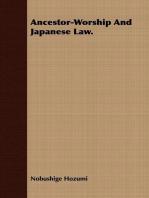 Ancestor-Worship And Japanese Law.