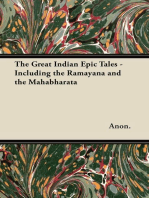 The Great Indian Epic Tales - Including the Ramayana and the Mahabharata