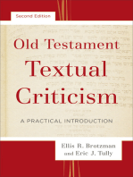 Old Testament Textual Criticism