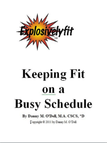 Keeping Fit On A Busy Schedule