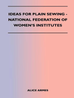 Ideas for Plain Sewing - National Federation of Women's Institutes