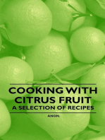 Cooking with Citrus Fruit - A Selection of Recipes