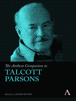 The Anthem Companion to Talcott Parsons