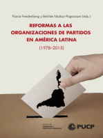 Reformas a las Organizaciones de Partidos en América Latina (1978-2015)
