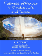 Fullness of Power in Christian Life and Service, Home and Group Questions for Today
