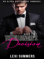 The Billionaires Decision (The Billionaires Crush - Book 5)