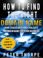 How To Find The Right Domain Name