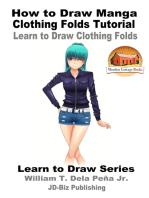 How to Draw Manga Clothing Folds Tutorial