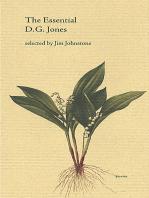 The Essential D. G. Jones