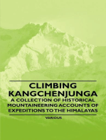 Climbing Kangchenjunga - A Collection of Historical Mountaineering Accounts of Expeditions to the Himalayas
