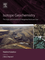Isotope Geochemistry: The Origin and Formation of Manganese Rocks and Ores