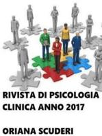 Rivista di psicologia clinica anno 2017