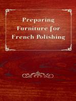 Preparing Furniture for French Polishing