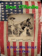 A Boy, His Mule and Dog