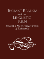 Thomist Realism and the Linguistic Turn