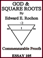 God & Square Roots