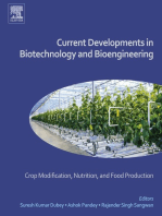 Current Developments in Biotechnology and Bioengineering