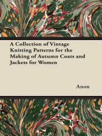 A Collection of Vintage Knitting Patterns for the Making of Autumn Coats and Jackets for Women