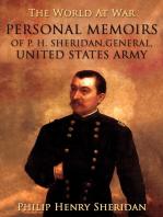 Personal Memoirs of P. H. Sheridan, General, United States Army