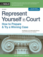 Represent Yourself in Court