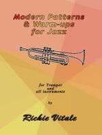 Modern Patterns & Warm-ups for Jazz