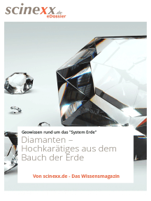 Diamanten: Hochkarätiges aus dem Bauch der Erde