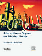 Adsorption-Dryers for Divided Solids