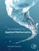An Invitation to Applied Mathematics