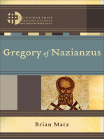 Gregory of Nazianzus (Foundations of Theological Exegesis and Christian Spirituality)